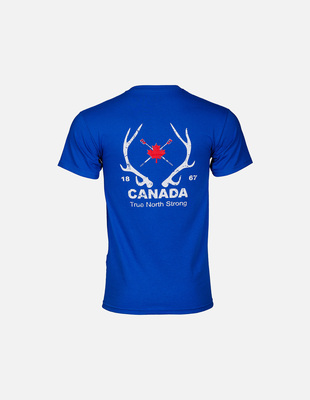 Tns antlers rowing tee blue m 01e