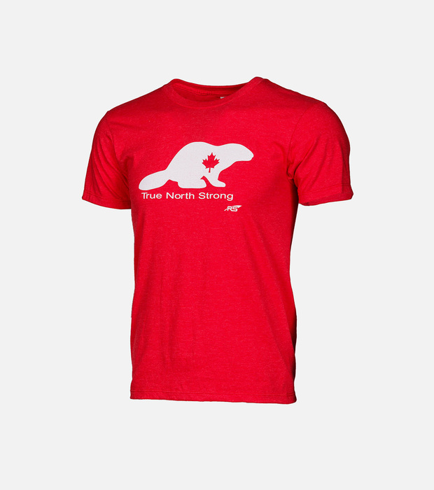 Tns beaver rowing tee red m 01e