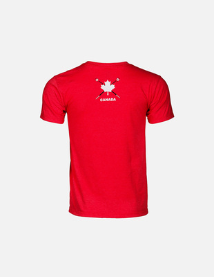 Tns beaver rowing tee red m 03e