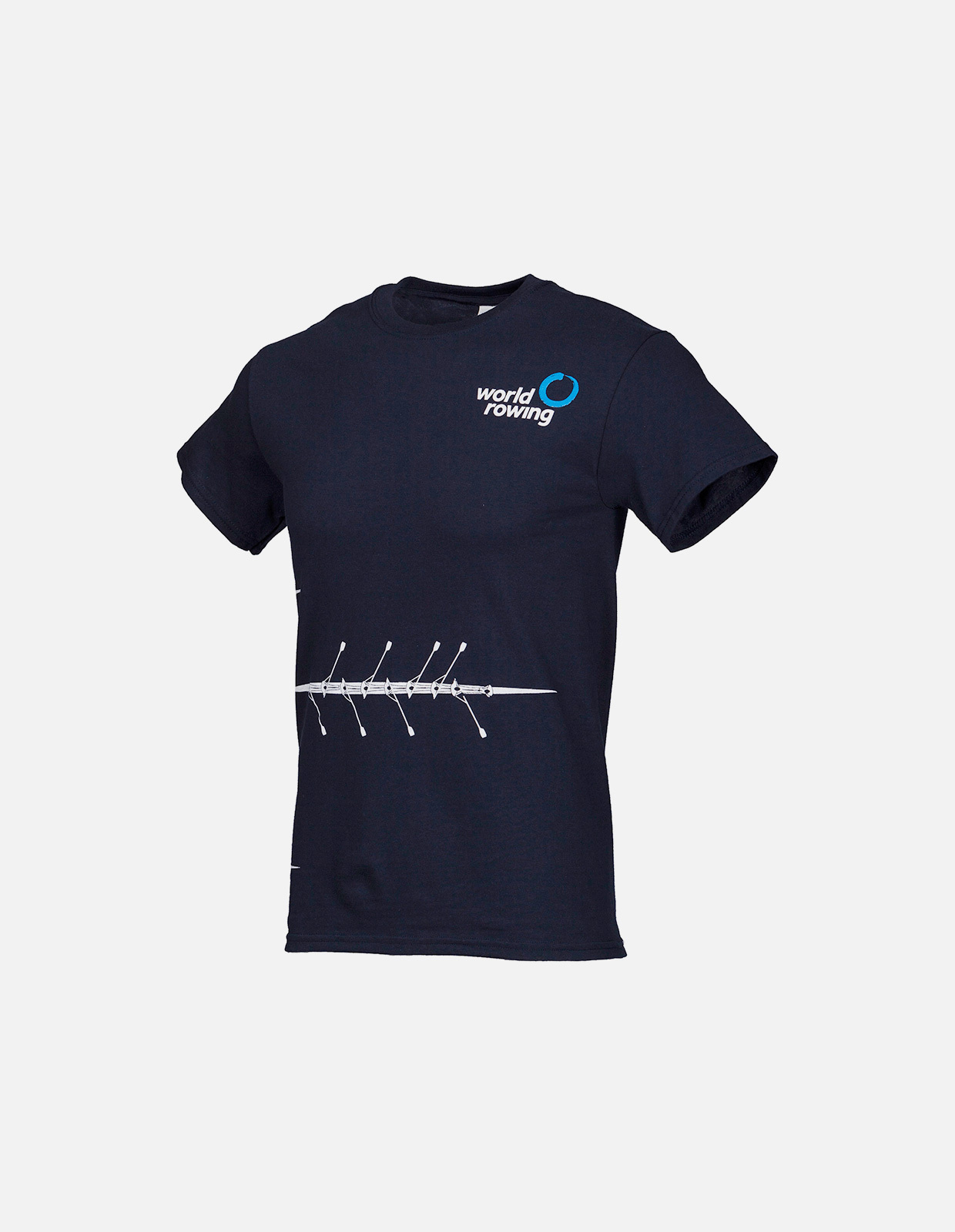 World rowing boat tee navy m 01e