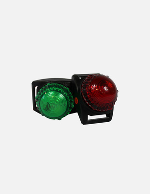 Red green bow light