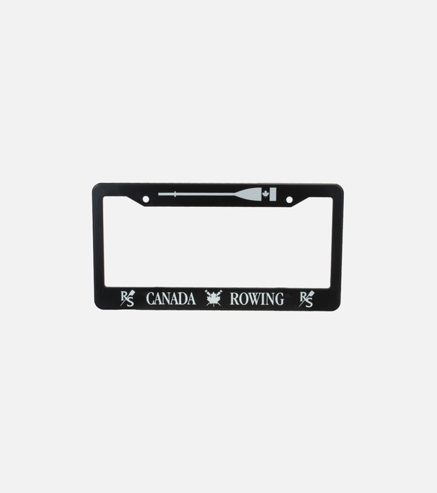 Canada rowing license plate