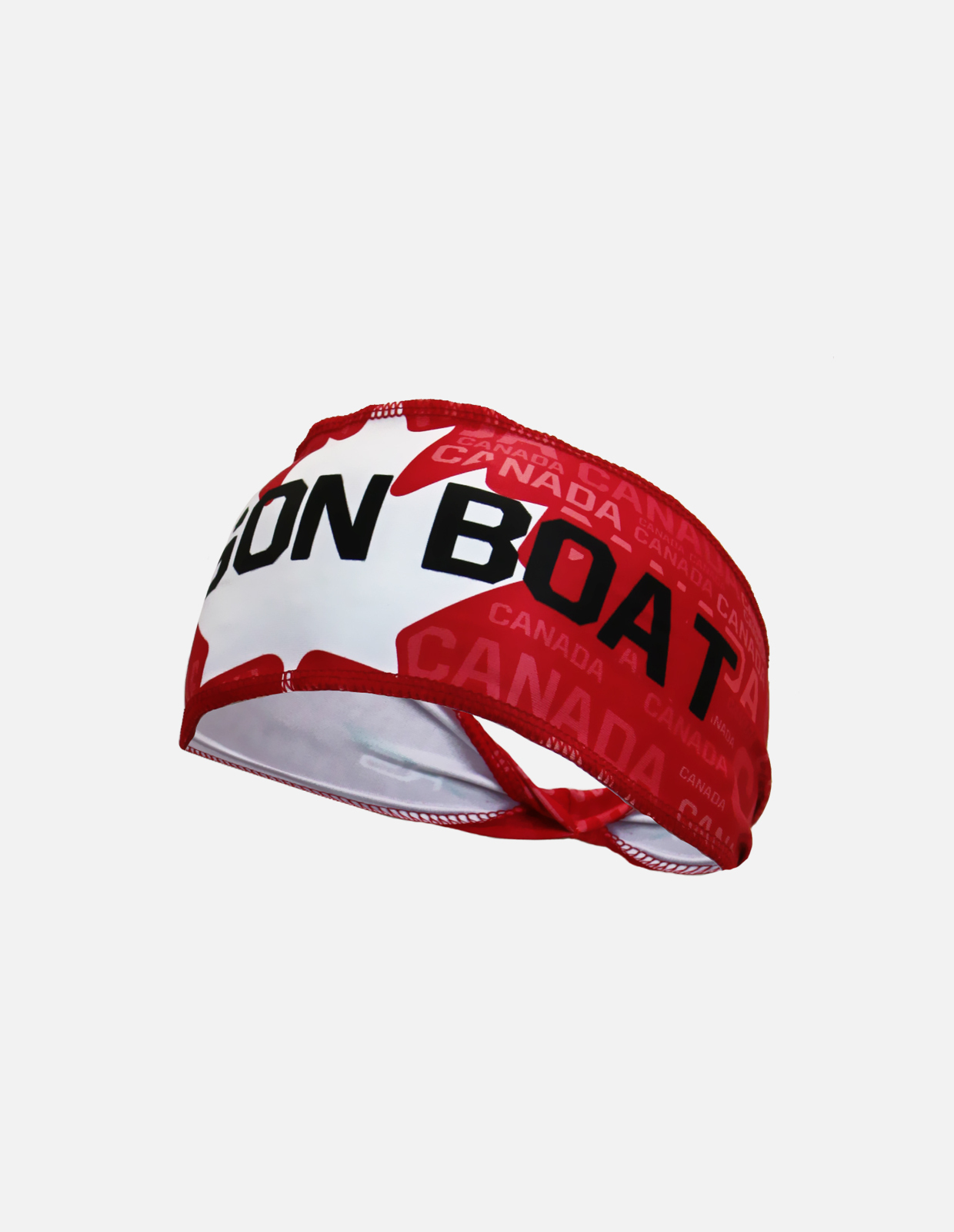 Dragonboat sublimated headband red