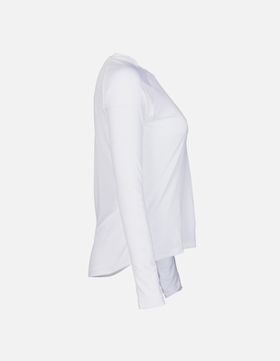 Womens ls speedshirt side