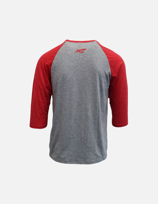Cura baseball shirt red back