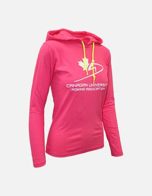 Cura hoodie pink womens