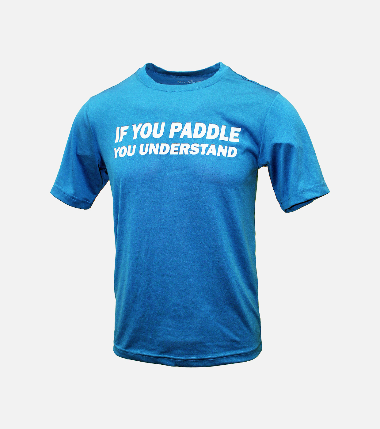 If you paddle you understand blue