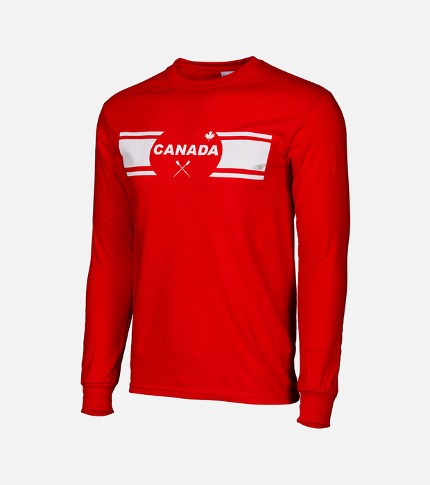 Canada row red longsleeve
