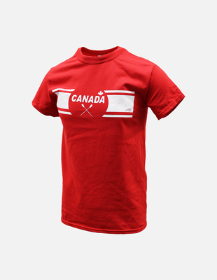 Canada row red shortsleeve