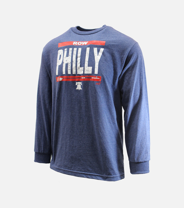 Rowphilly ls tee
