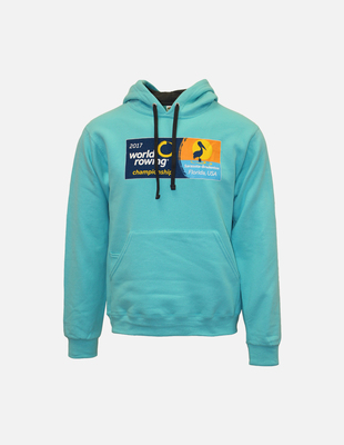 Wr 2017 hoodie turquoise