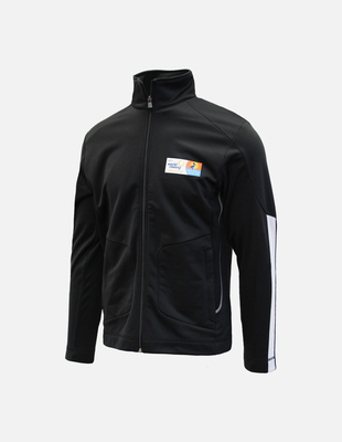 Wr 2017 knit track jacket black