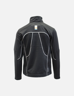 Wr 2017 knit track jacket black back