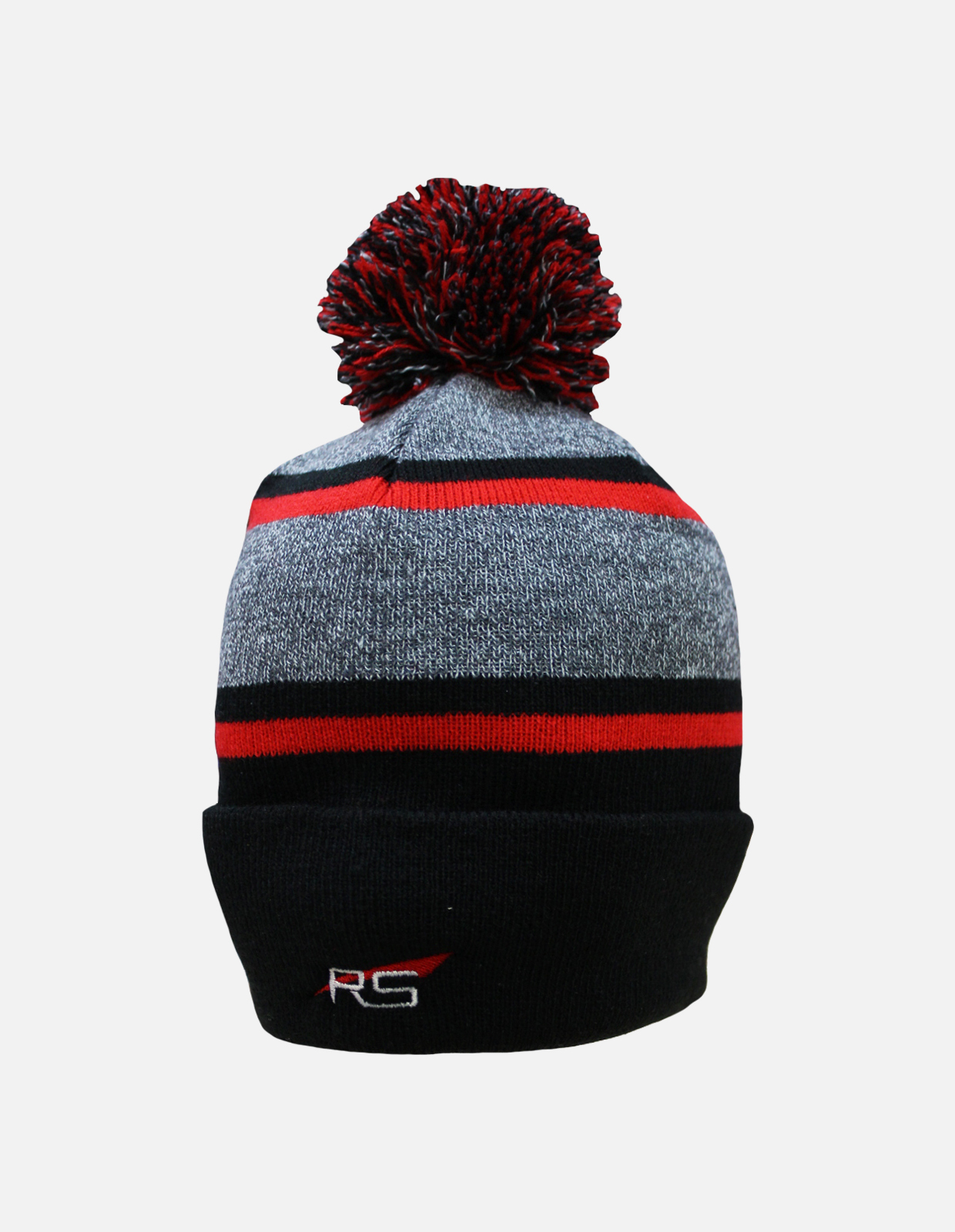 Rs toque black red