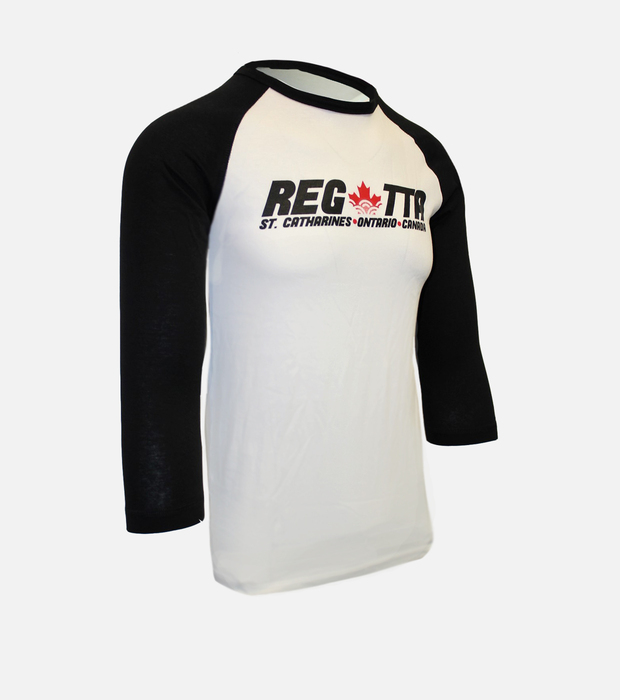 Regatta baseball tee black